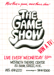 Game Show poster