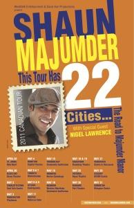 Shaun Majumder Tour Poster