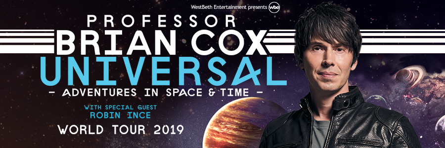 Professor Brian Cox Announces North American Tour Dates | WestBeth