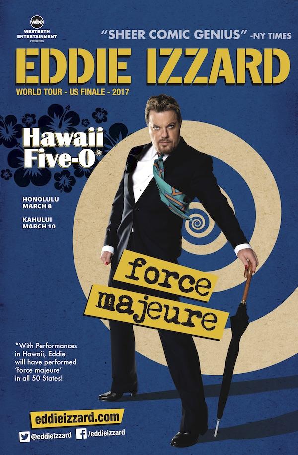 Eddie Izzard Hawaii Small